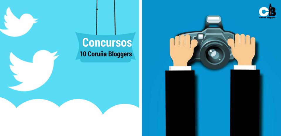 Dos Concursos en Twitter para 10 Coruña Bloggers