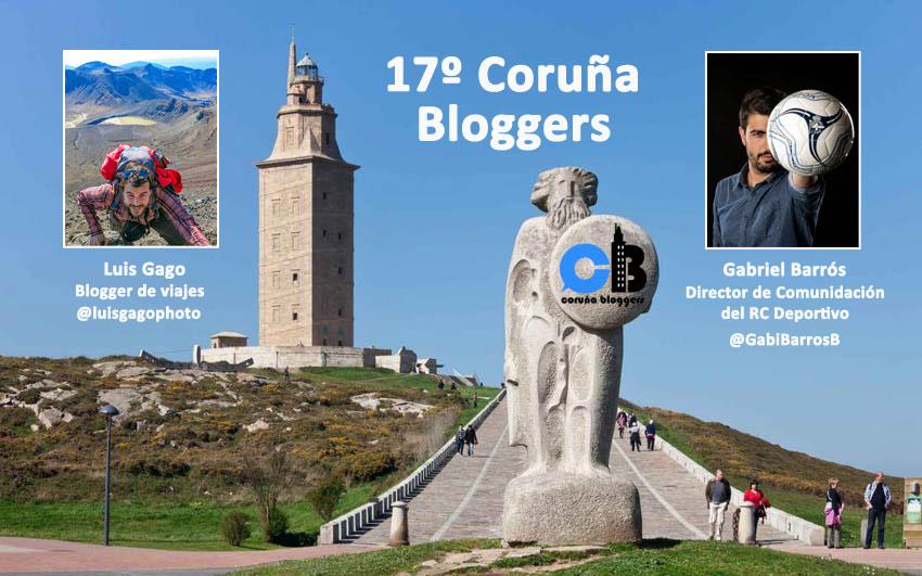 17º #coruñabloggers del 25 de abril